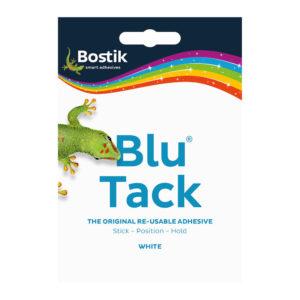Bostik Blu Tack Handy Pack 60g White 30803836 BK11041
