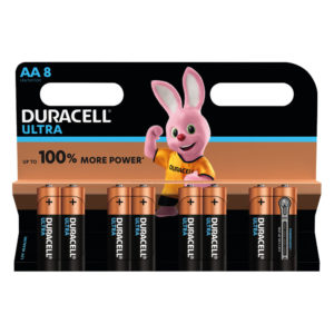 Duracell Plus Power AA Batteries (Pack of 8) 75051925