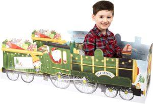 Giant Christmas Play Card Elf Express' Steam Train