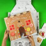 Giant Christmas Play Card Gingerbread House