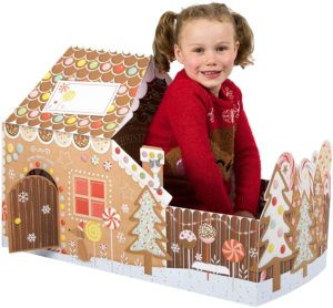 Giant Christmas Play Card Gingerbread House