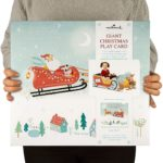Giant Christmas Play Card Santa's Sleigh