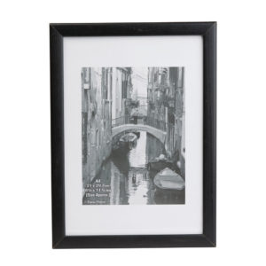 Photo Back Loader Frame A4 Black PHT81074