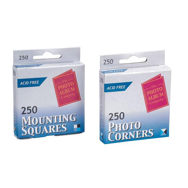 TPAC Photo Corners White (Pack of 250) PC250 PHT00002