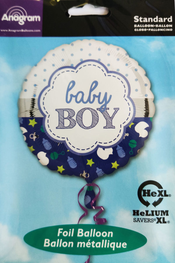 Baby BOY 17inch Foil Balloon 33642