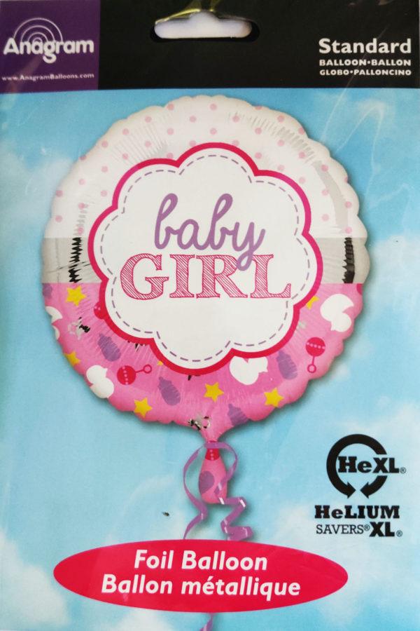 Baby Girl 17inch Foil Balloon  33643