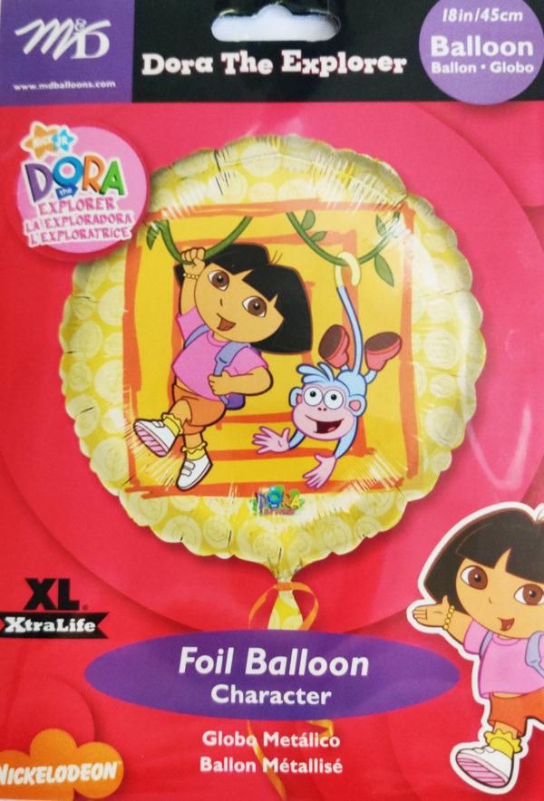 Dora The Explorer 18inch Foil Balloon 09268