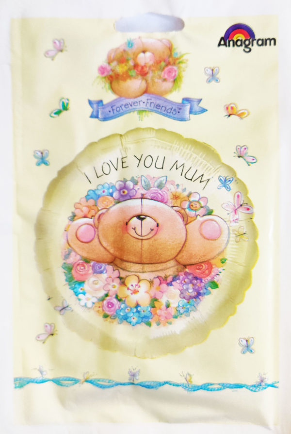 Forever Friends I Love You Mum 18inch Foil Balloon  11374