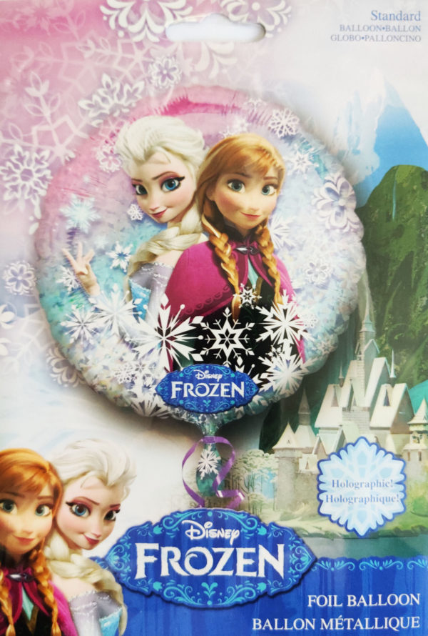 Frozen Holographic 18inch Foil Balloon 27552