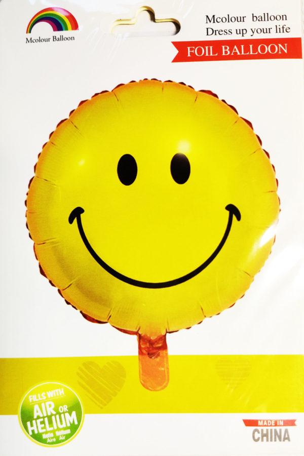 Smiley Face Emoji 18inch Foil Balloon