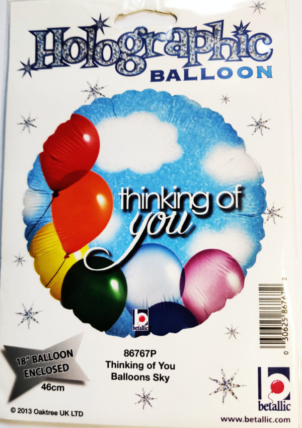 Thinking of You 30625 18inch Foil Balloon